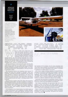 Aviator July 2014 Foxbat