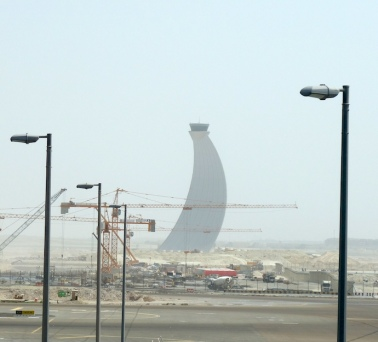 Abu Dhabi control tower