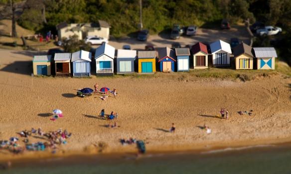 Beach near Portsea VIC 2 toytown