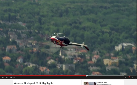 Budapest helicopter