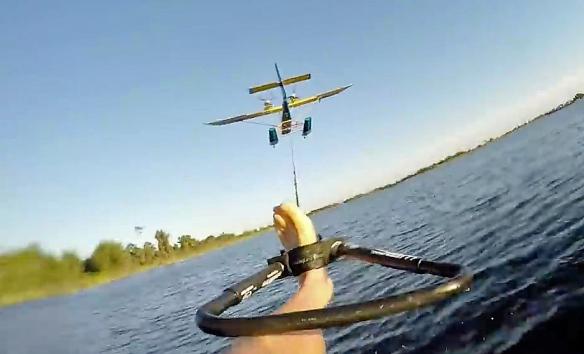 Aero water ski