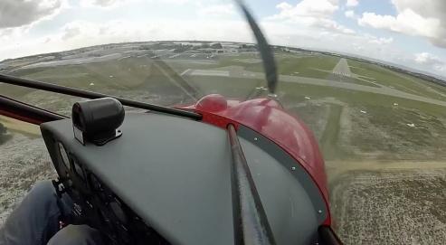 Landing at Jandakot