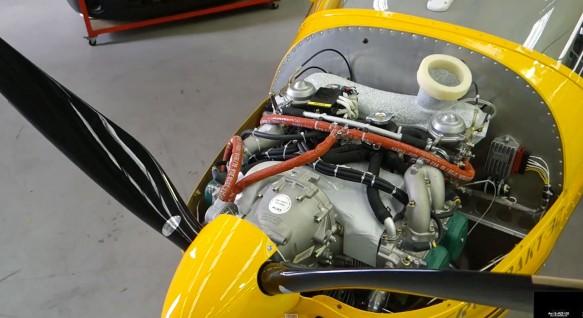 A32 engine bay