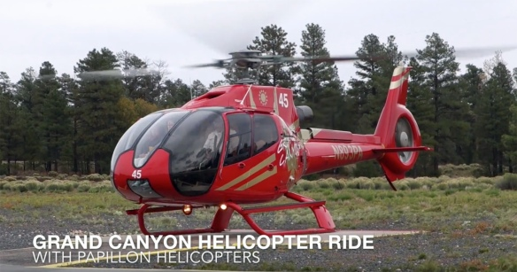 Grand Canyon helicopter video