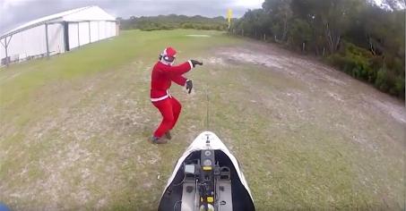 Santa stole my plane