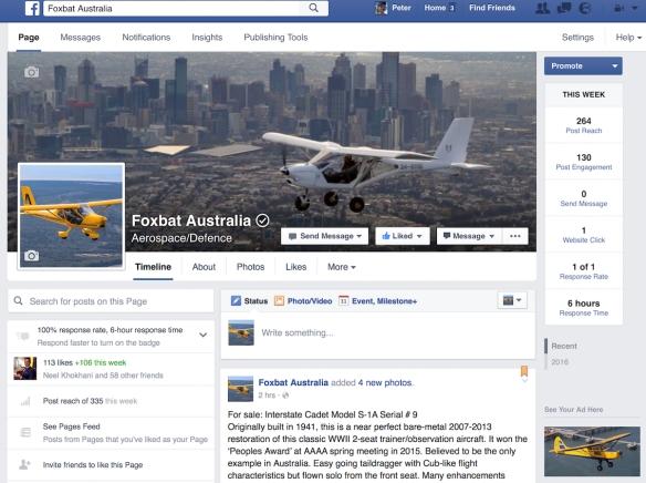Foxbat Facebook