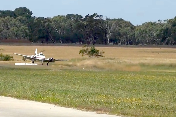 Crosswind at Tyabb