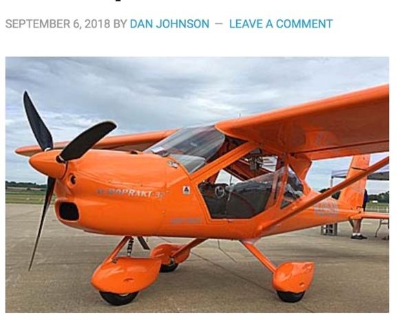Light Sport Aircraft (LSA) | Foxbat Pilot